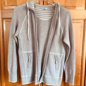 LL Bean 100% Merino Wool Women's Hoodie Small
